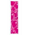 Roze ballonnen banner 60 x 300 cm