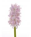 Roze hyacint kunstbloem 30 cm