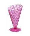 Roze ijscoupe 9 2 cm