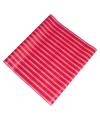Roze inpakpapier met strepen 200 x 70 cm