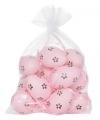 Roze plastic eieren 12 stuks