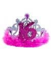 Roze sweet 16 tiara