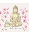 Servetten boeddha print 3 laags 20 stuks