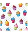 Servetten cupcakes 20 stuks
