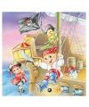 Servetten piraten kinderen 20 stuks