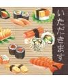 Servetten sushi 3 laags 20 stuks