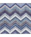 Servetten zigzag blauw 3 laags 20 stuks