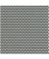 Servetten zwart wit driehoekjes 20 stuks