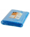 Shake rietjes blauw 135 stuks 25cm