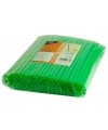 Shake rietjes groen 135 stuks 25cm
