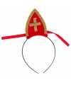 Sinterklaas diadeem met mijter