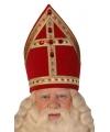 Sinterklaas luxe kokermijter sinterklaas