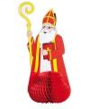 Sinterklaas vouwdecoratie 47 cm