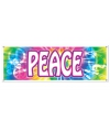 Sixties peace banner 150 cm