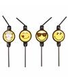 Smiley emoticons rietjes 8 stuks