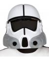 Space trooper helm wit