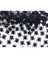 Spinnetjes confetti zwart 15 gram