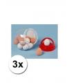 Stuiterende nep eieren 3 stuks