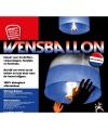 Super voordelige wensballon rood wit blauw