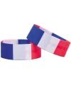 Supporter armband frankrijk