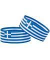 Supporter armband griekenland
