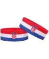 Supporter armband kroatie