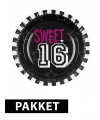 Sweet 16 versiering pakket