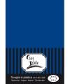 Tafelkleed donkerblauw 140 x 240 cm