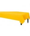 Tafelkleed geel 140 x 240 cm