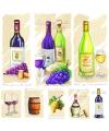 Thema servetten wijn 20 stuks