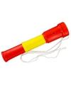 Toeter rood geel rood 20 cm