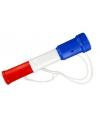 Toeter rood wit blauw 20 cm