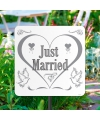 Tuinbord just married