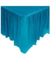 Turquoise tafelrok