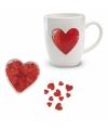 Valentijn cadeaupakket voor bij een valentijnsontbijtje