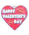 Valentijn decoratie hart 30 cm type 1