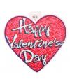 Valentijn decoratie hart 30 cm type 2