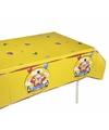 Verjaardag tafelkleed clowns 180 cm