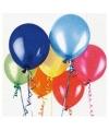 Verjaardag thema servetten met ballonnen