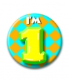 Verjaardags button i am 1