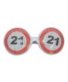 Verkeersborden bril 21 jaar
