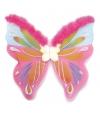 Vlinder vleugels gekleurd