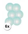 Voordelig lampionnen pakket mint 6x