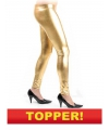 Voordelige gouden legging