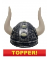 Voordelige viking helm met hoorns