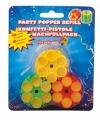 Vulling partypopper confetti gun