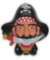 Wanddecoratie piraten 36 x 45 cm