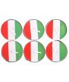 Waxinelichtjes italie 6 stuks