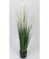 Wild bloeiende kunst grasplant 106 cm