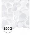 Witte confetti 600 gram